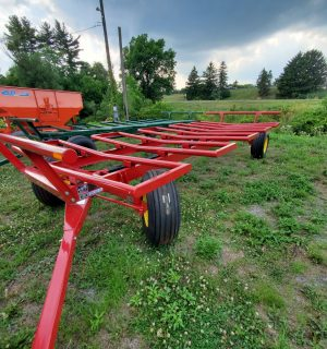 Diller BC20 Round Bale Wagon